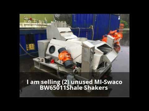 Want to buy MI-Swaco BW65011 Shale Shakers? jeff@jeffweber.net