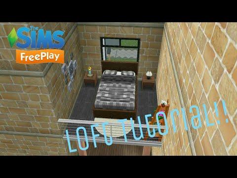 Sims Freeplay| Loft Tutorial!😍😍😍 - YouTube on
