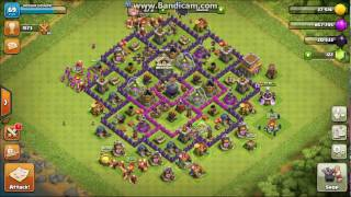 CLASH OF CLANS PART # 2 MAXING SOME WALLS AND JOIN MY CLAN TONIGHT FROM 8:0PM TO 8: 20 pm
