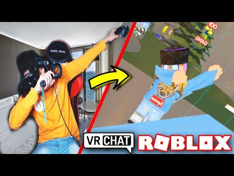 ROBLOX IN VRCHAT! (OOF-er Gang IN VR)