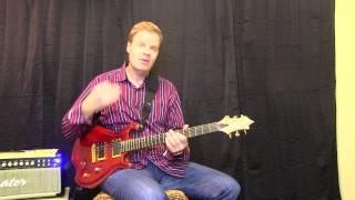 Jammin WIth Kirk Blues Pentatonic  Scale