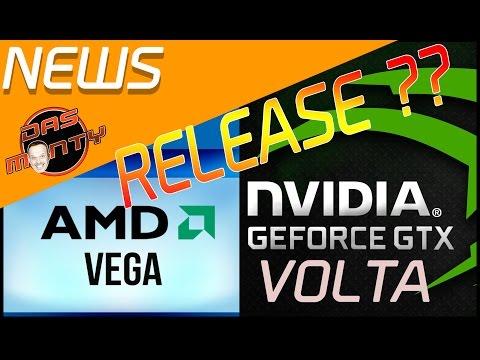 AMD RX-VEGA - NVIDIA VOLTA | Die neusten Release-Infos zu den Grafikkarten | Das Monty - Deutsch