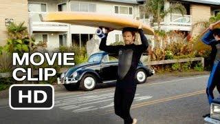 Chasing Mavericks Movie CLIP - Paddleboards (2012) - Gerard Butler Movie HD