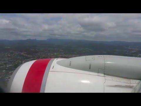 Virgin Australia flight from Adelaide to Coolangatta | Takeoff and landing | Australia, 2015