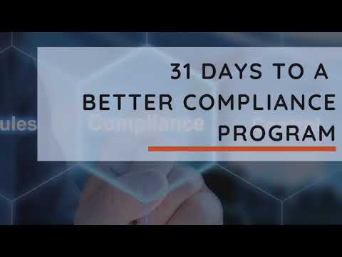 31 Days To A More Effective Compliance Program - Introduction To Reporting And Investigations