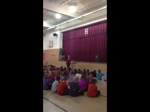 Judy Pancoast at Hudson Elementary School