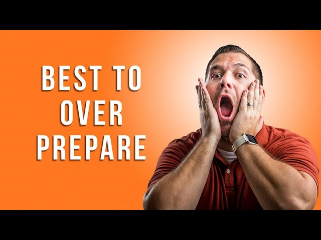 How to Over Prepare with Miles Boone