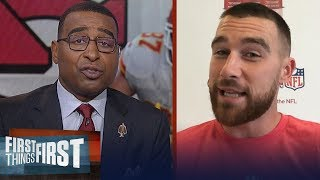 Travis Kelce is confident Chiefs will play well while Mahomes recovers   NFL   FIRST THINGS FIRST