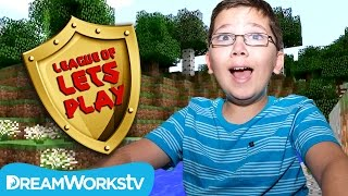 Minecraft Jurassic Mod House with 9 Year Old Jacob from TeraBriteGames | LEAGUE OF LET'S PLAY
