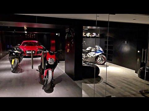 motorradgarage garage bike box by gromparts doovi. Black Bedroom Furniture Sets. Home Design Ideas