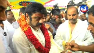 Balakrishna Tours In Kadapa Kamalapuram Temple | No.1 News