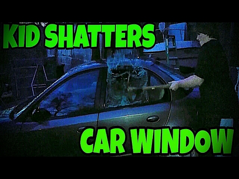 WILLIAM SHATTERS CAR WINDOW TO GET XBOX!!!