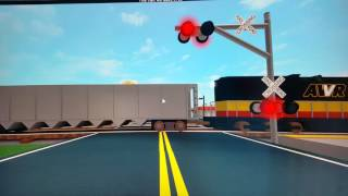 Rail fanning in Roblox