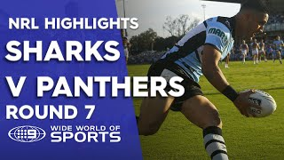 NRL Highlights: Cronulla Sharks v Penrith Panthers - Round 7