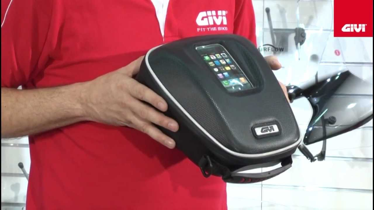 Givi Tanklock Tank Bag Sytem Youtube