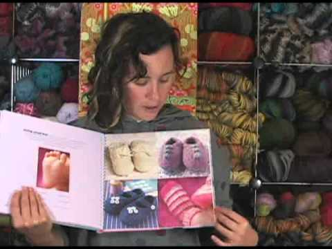 Zoe Mellor 50 Baby Bootees to Knit Book Review
