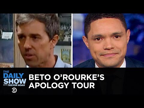 Beto O'Rourke: Born to Run & Born to Apologize | The Daily Show