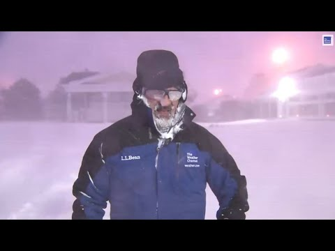 Weatherman Totally Loses It On Live TV Over Thundersnow