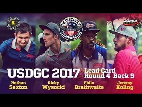 USDGC 2017 Final Round Lead Card Back 9
