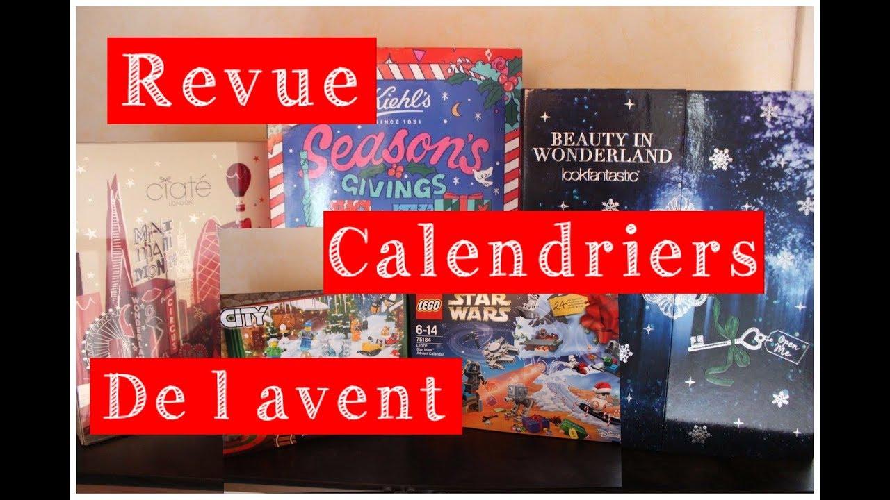 Revue Calendrier De L Avent 2017