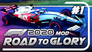 F1 Road to Glory 2020 - Part 1: NEW CAR FOR A NEW SEASON! (S3)