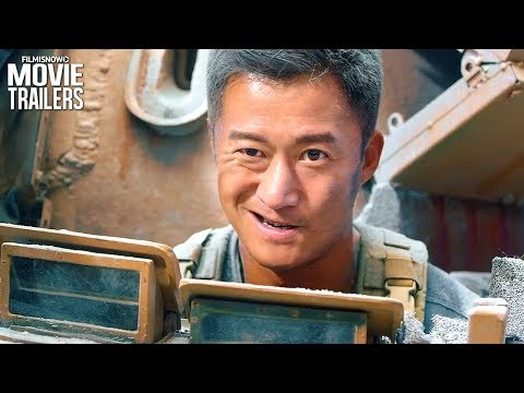 WOLF WARRIOR 2 Trailer - Wu Jing & Frank Grillo Action Movie