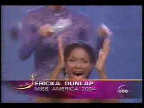 Miss America 2004 - crowning moment
