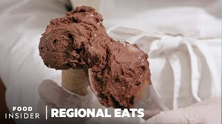 How Traditional Italian Gelato Is Made | Regional Eats