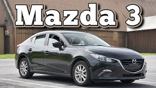 2014 Mazda 3 Sedan 6MT: Regular Car Reviews
