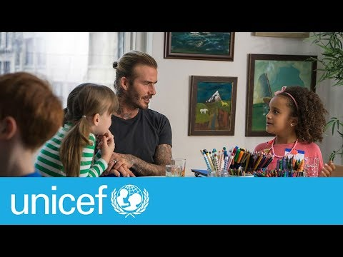 #KidsTakeover with David Beckham | UNICEF