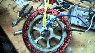 E-bike core hub motor repair