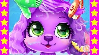 Салон красоты для животных! Детские мультики про котят и собачек. Мультфильмы для детей.