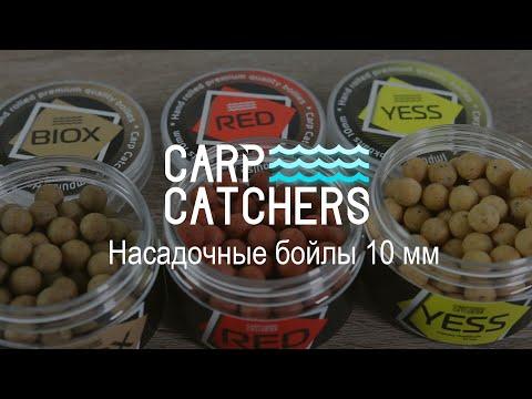 Насадки для ловли карпа: бойлы Carp Catchers 10 мм. Нейтральная презентация насадки. Оснастка
