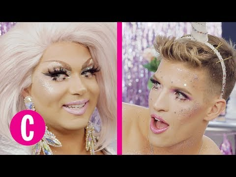 Download Youtube: Glitter Fantasy Plays Never Have I Ever (ft. Alexis Michelle) | Episode 16 | Cosmopolitan