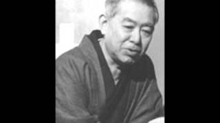 Voice of Tanizaki Jun'ichiro reading Shunkinsho