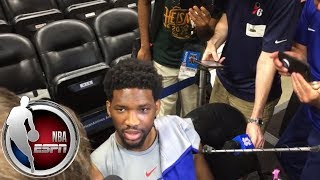 Joel Embiid: I play better on the road because I like hearing people boo   NBA on ESPN thumbnail