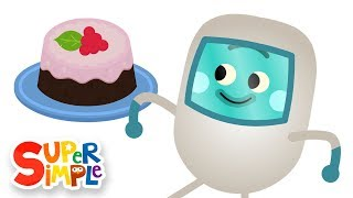 The Bumble Nums Make Erupting Raspberry Lava Cake | Cartoon For Kids