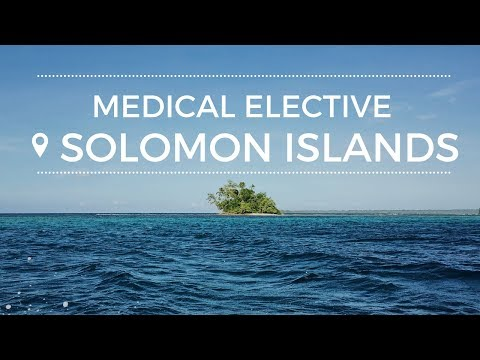 Medical Elective in the Solomon Islands
