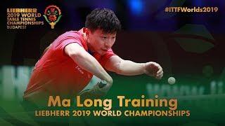 Ma Long Training | Liebherr 2019 World Table Tennis Championships