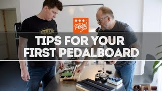 Tips For Your First Pedalboard Build – That Pedal Show