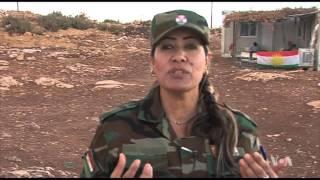 Syrian Nurse Aids Patients on Iraq's Mount Sinjar