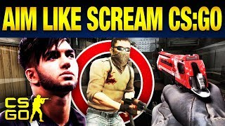 Top 10 Tricks To Aim Like ScreaM in CS:GO