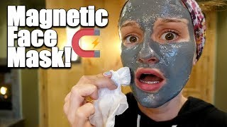 Trying a Magnetic Face Mask! 😱