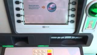 National Bank of Abu Dhabi cash deposit.
