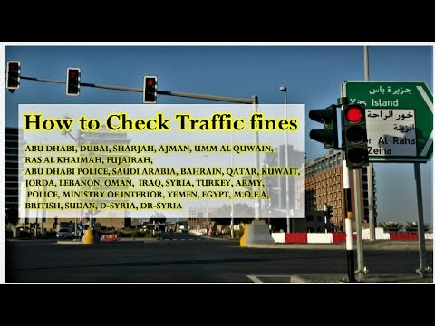 How To Check Traffic Fines Online (Go In AF)