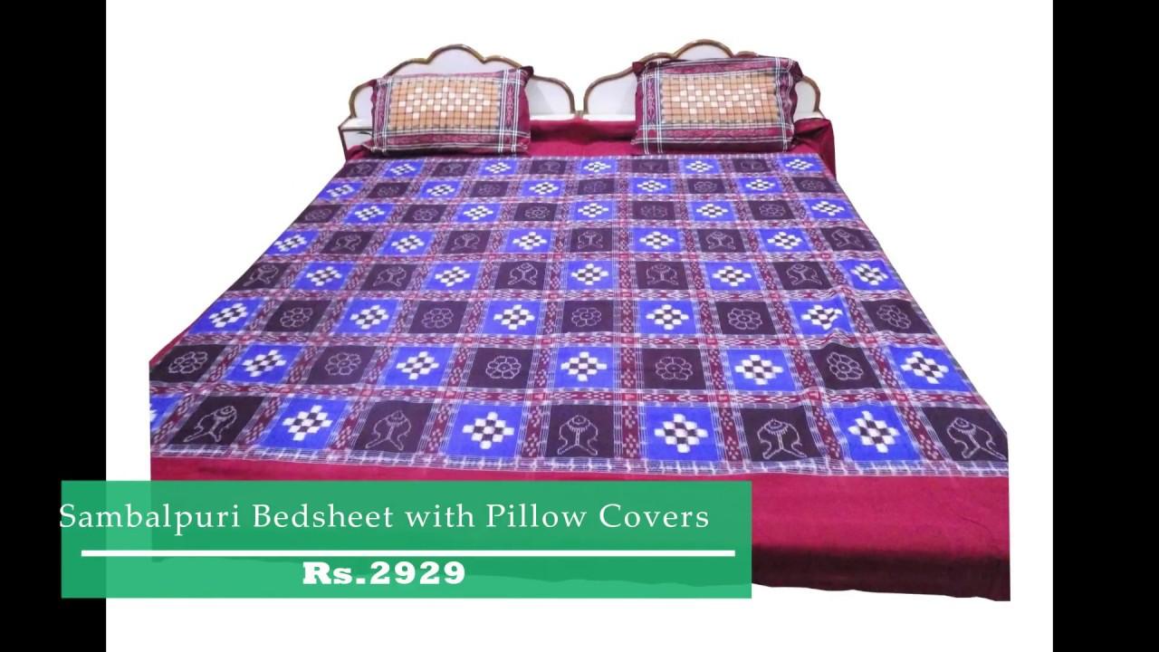 New Beautiful Cotton Bedsheets Online | OdiKala.com