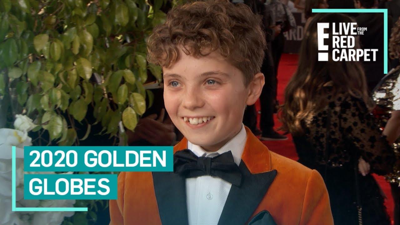 The 'Jojo Rabbit' kids win the award for cutest Oscars red carpet ...