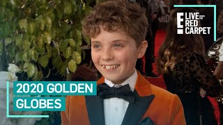 Meet the Youngest 2020 Golden Globes Nominee | E! Red Carpet & Award Shows