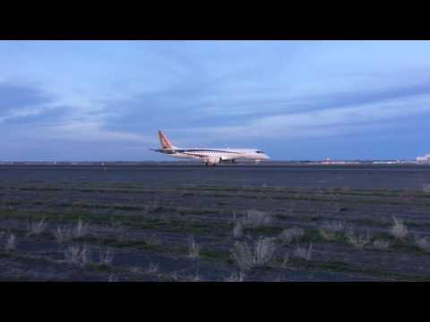 Mitsubishi Aircraft Regional Jet Taxiing