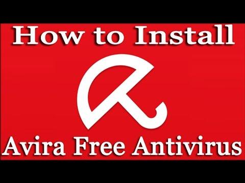 How to Install AVIRA Free Antivirus 2016   Installing Avira Free Antivirus 2016